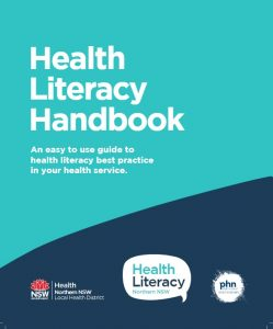 Cover of Health Literacy Handbook from Health Literacy Northern NSW