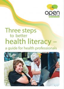 Cover of Three steps to better health care